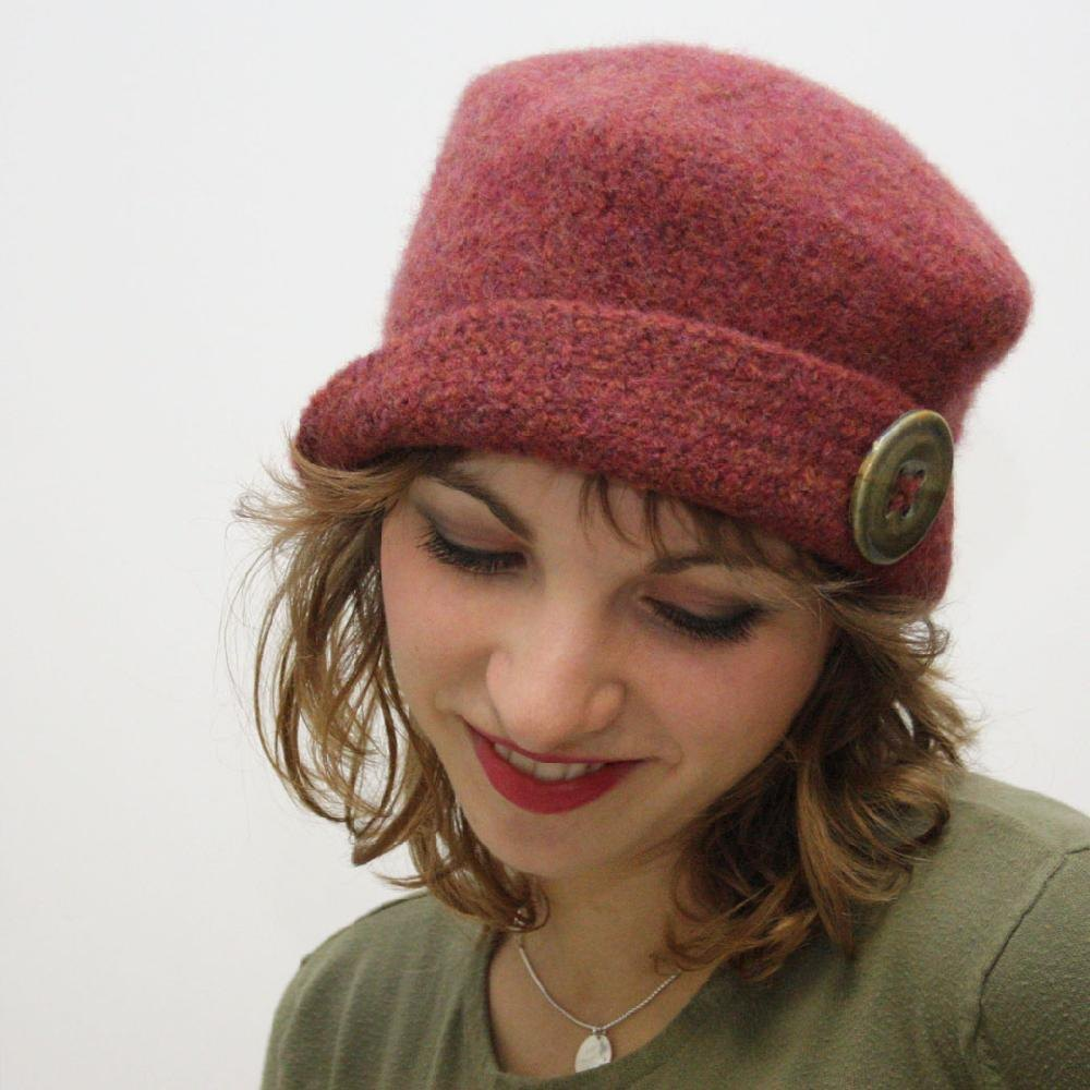 It S Hip To Be A Square Felted Hat Knitting Patterns