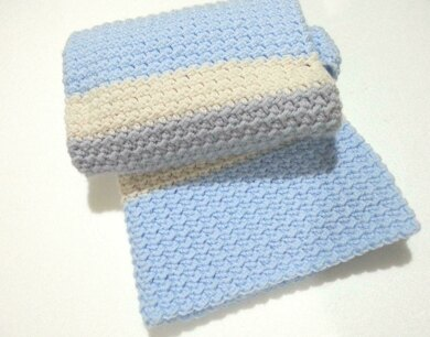 3 colors baby blanket