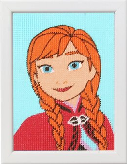 Vervaco Frozen Anna Tapestry Kit