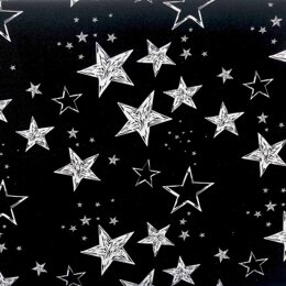 Craft Cotton Company Outer Space - Stars