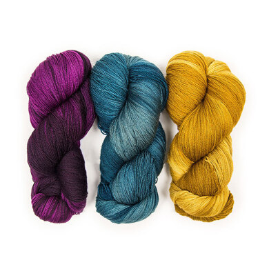 The Yarn Collective Portland Lace 3 Skein Color Pack