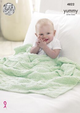 Blankets in King Cole Yummy - 4822