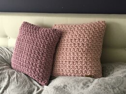 Cushion made of cottoncord