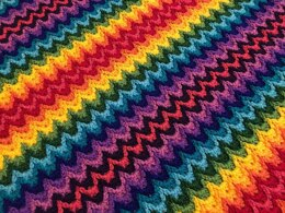 Rainbow Ridge Blanket