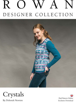 Crystals Sweater in Rowan Pure Wool Worsted - D171