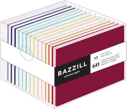 "Bazzill Value Pack Cards W/Envelopes 4.25""X5.5"" 60/Pkg - Brights"