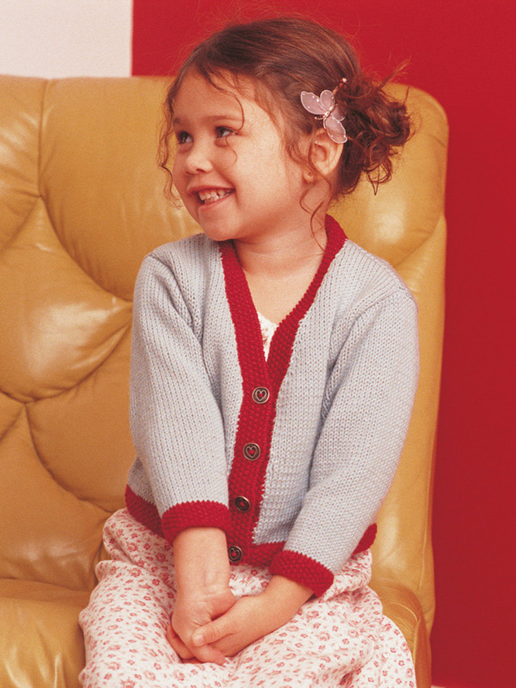 Knitting Pattern Cardigan 4 Year Old : Rose in Rowan Wool Cotton Knitting Patterns LoveKnitting