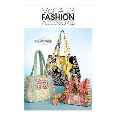 McCall's Tote Bag In 3 Sizes M5822 - Sewing Pattern