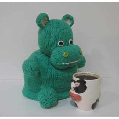 Hippo Tea Cozy