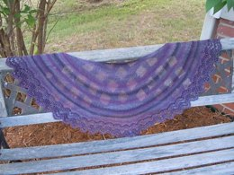 Intrigued with Beads Shawl