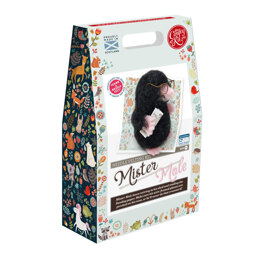 The Crafty Kit Company Mister Mole Needle Felting Kit - 20cm