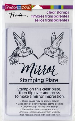 """Stampendous Mirror Stamping Plate 4""""X5.5"""" - 588313"""