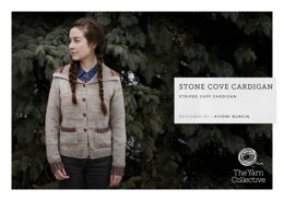 """""""Stone Coves Cardigan by Kiyomi Burgin"""" - Cardigan Knitting Pattern For Women in The Yarn Collective"""