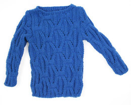 Tea Party Pullover in Caledon Hills Worsted Wool