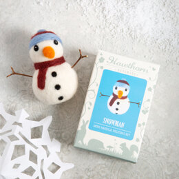 Hawthorn Handmade Snowman Mini Needle Felting Kit