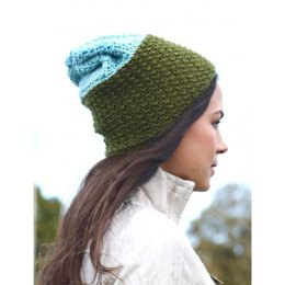I'm With the Band Slouchy Hat in Bernat Vickie Howell Sheep-ish - Downloadable PDF