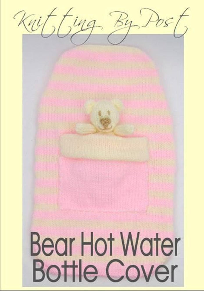 Hot Water Bottle Cover Knitting Pattern Dk : Bear Hot Water Bottle Cover Knitting pattern by Knitting by Post