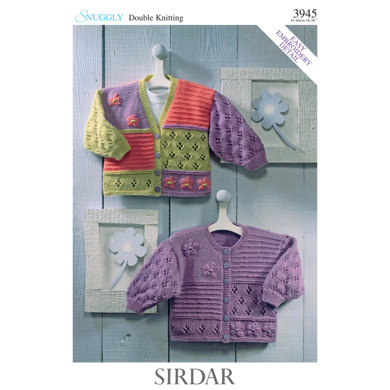 Cardigans In Sirdar Snuggly Double Knitting 3945downloadable Pdf
