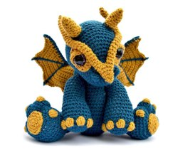 Amigurumi Dragon - Clancy