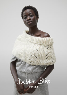 North Cape - Knitting Pattern For Women in Debbie Bliss Roma