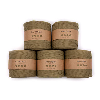 Paintbox Yarns Recycled T-Shirt 5 Ball Value Pack