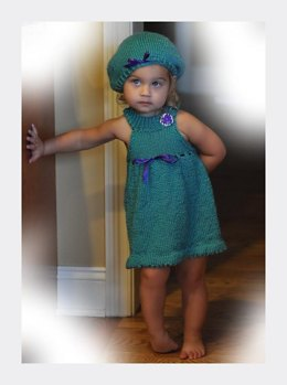 Gianna's Jumper and Beret - Size 2-3