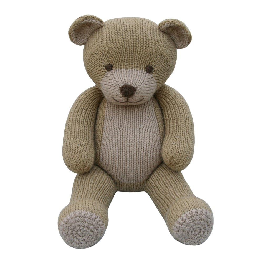 Knitting Pattern For All In One Teddy Bear : Bear (Knit a Teddy) Knitting pattern by Knitables
