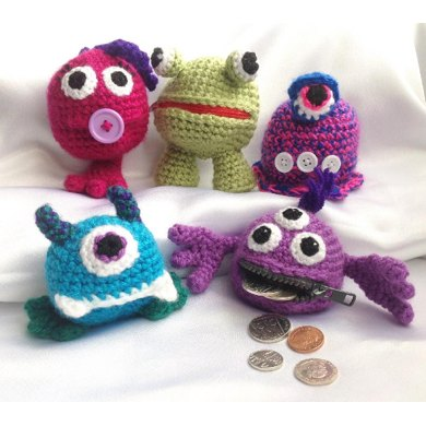 Money Monsters Coin Purse