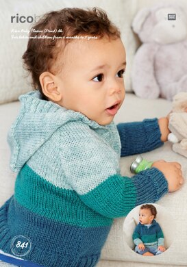 Sweaters in Rico Baby Classic DK & Baby Classic Print DK - 841 - Downloadable PDF