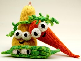 DON'T Eat Your Veggies Amigurumi Pattern