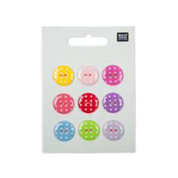 Rico Dots Button Mix - Large