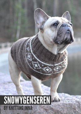 The Snowy Sweater by Knitting Inna