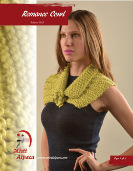 Romance Cowl in Misti Alpaca Chunky & Hand Paint Chunky - 3023 - Downloadable PDF