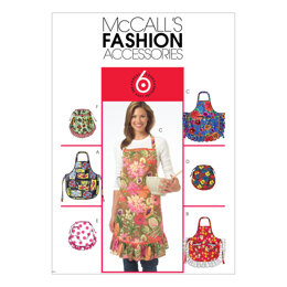 McCall's Aprons M5284 - Paper Pattern Size All Sizes In One Envelope