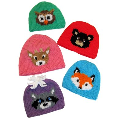 Forest friends hats