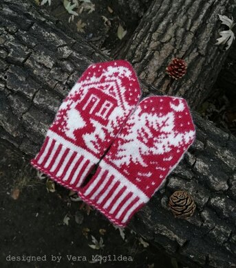 Christmas Tale Mittens