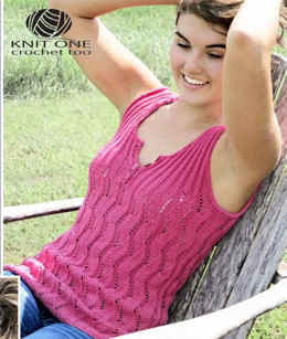 Bougainvillea Tank by Knit One Crochet Too Pediwick - 2190 - Downloadable PDF