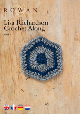 Lisa Richardson Crochet Along Week 3 in Rowan Summerlite 4 Ply