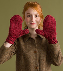 Kinlough Mittens in Classic Elite Yarns Big Liberty Wool