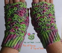 The Great Escape wrist warmers