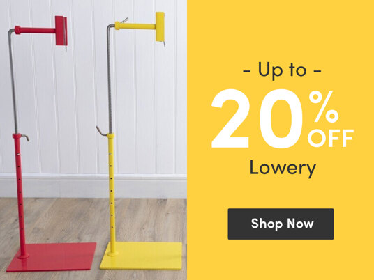 Up to 20 percent off Lowery!