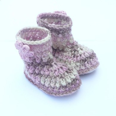 Multicolour Baby Boots