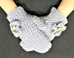 Timeless Grid Mittens