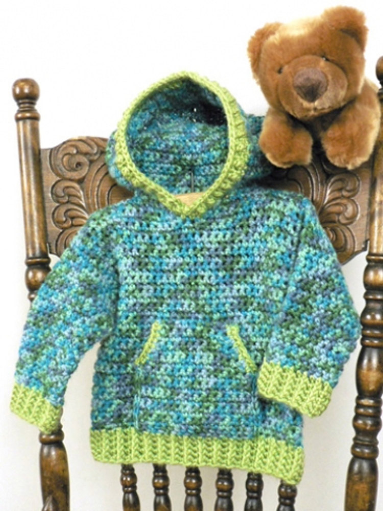 Toddler Hoodie In Caron Simply Soft Collection Amp Simply