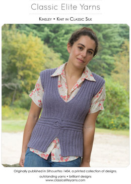 Kinsley Top in Classic Elite Yarns Classic Silk - Downloadable PDF