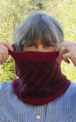 Crocodile Teeth Cowl