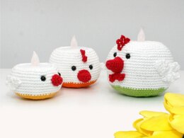 Tealight Holders - Chickens