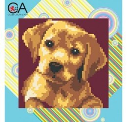 Collection D'Art Labrador Puppy Tapestry Kit