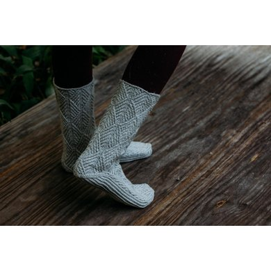 Local Roots Mukluks Knitting Pattern By Andrea Mowry