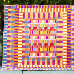 Free Spirit Exclusive Signed by Kaffe! Artisan Kaffe Fassett Stripes Galore Quilt Kit